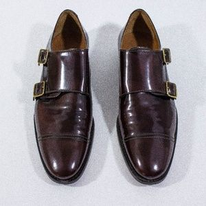 Burberry - Plum Leather Oxfords